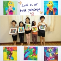 Brickfields-batik painting